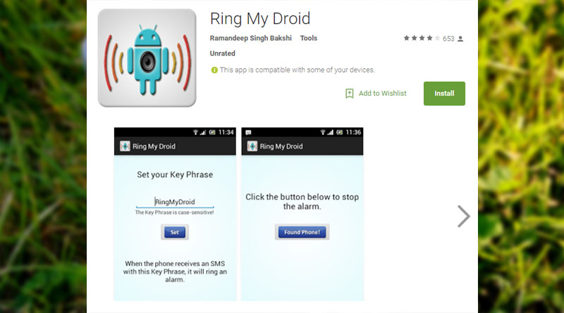 Ring My Droid