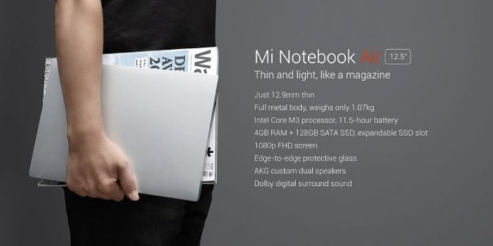 Mi Notebook Air 12,5 Inci